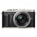 OLYMPUS E-PL9 14-42 mm Pancake Zoom Kit black/silver
