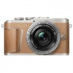 OLYMPUS E-PL9 14-42 mm Pancake Zoom Kit brown/silver